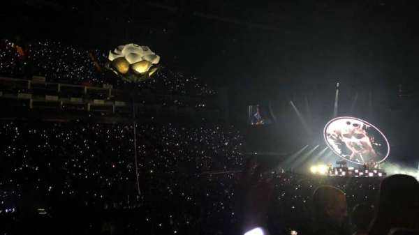 The O2 Arena, section: 110