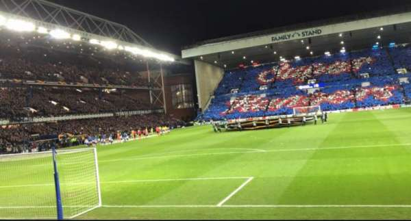 Ibrox Stadium, section: CF2, row: H, seat: 52