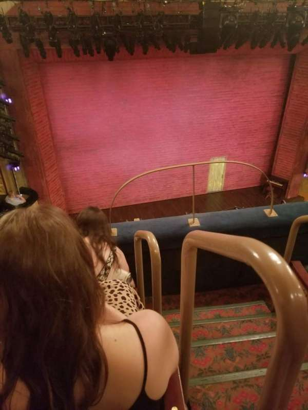 Shubert Theatre, section: Balcony L, row: C, seat: 1