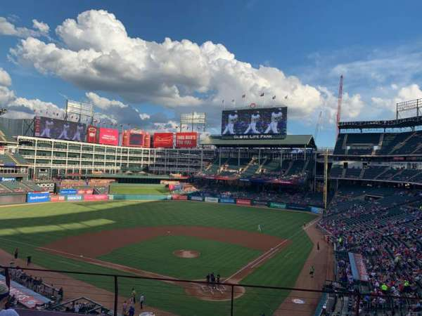 Globe Life Park in Arlington, section: 224, row: 4, seat: 11