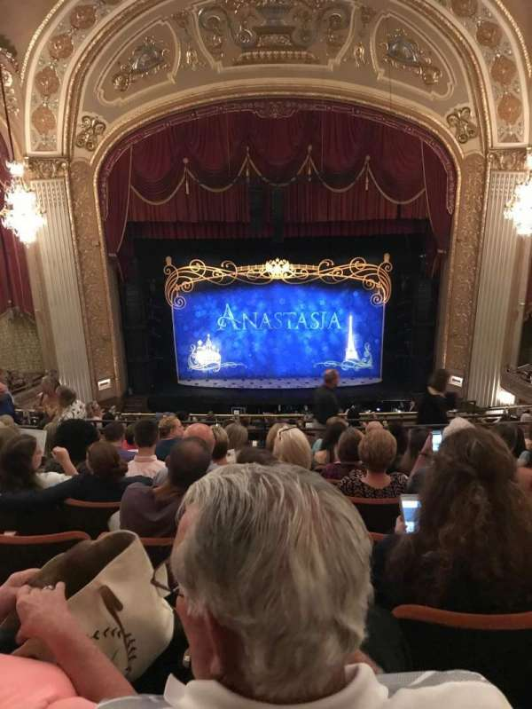Orpheum Theatre (Memphis), section: Balcony center, row: H, seat: 105