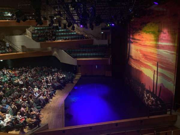 St David's Hall, section: Tier 7, row: A, seat: 3