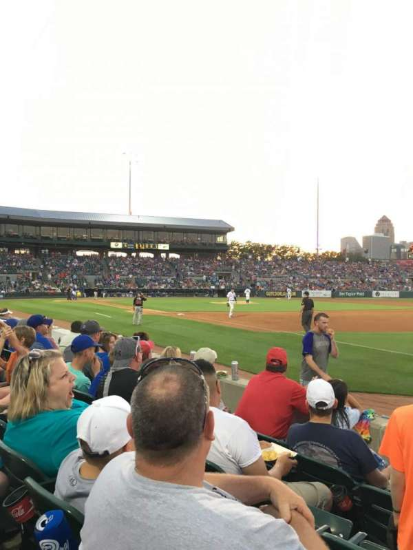 Principal Park, section: W, row: 4, seat: 6