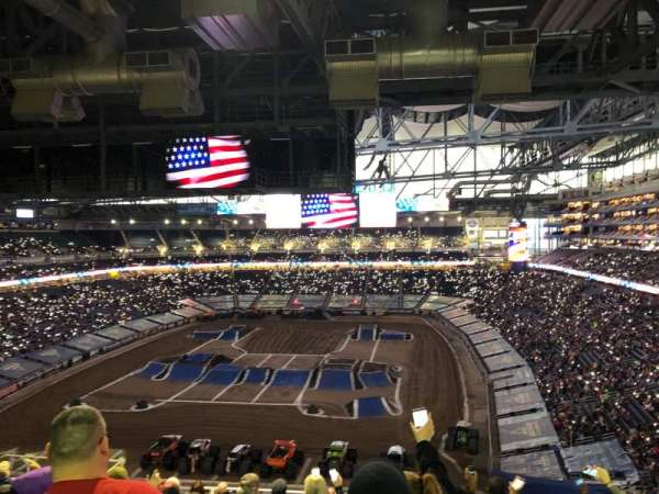 Ford Field, section: 245, row: 5, seat: 9