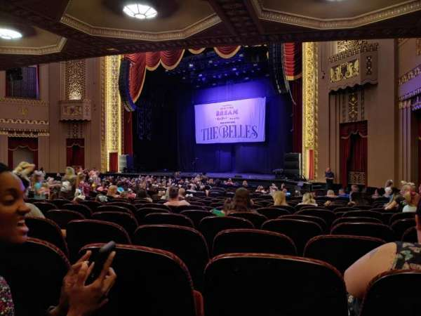 Stifel Theatre, section: Orchestra R, row: Aa, seat: 12