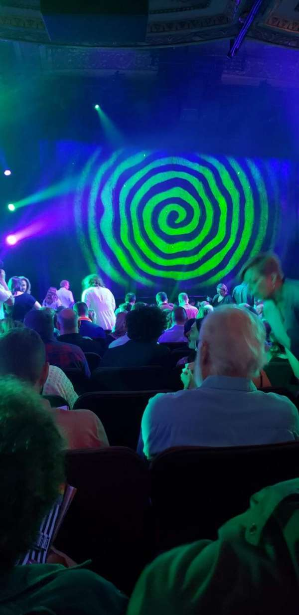Winter Garden Theatre, section: Orchestra C, row: T, seat: 118
