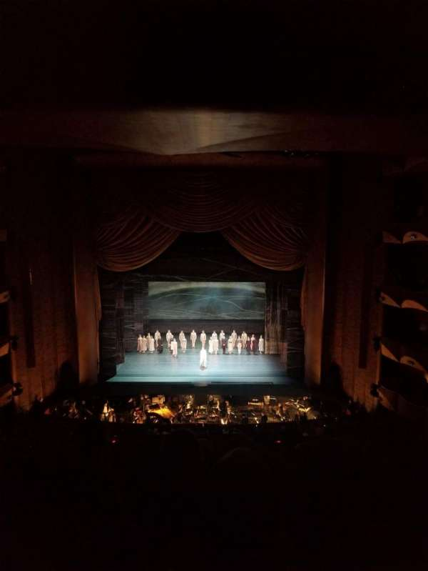 Metropolitan Opera House - Lincoln Center, section: Dress Circle, row: F, seat: 104