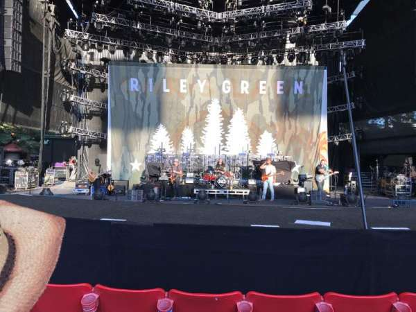Shoreline Amphitheatre, section: 101, row: e, seat: 14