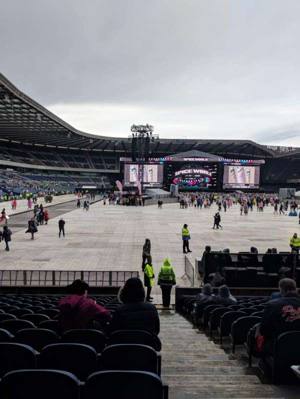 Murrayfield Stadium, section: South 15, row: R, seat: 11