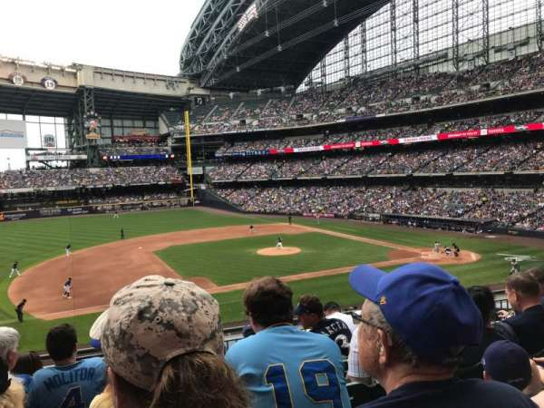 American Family Field, section: 225, row: 6, seat: 11