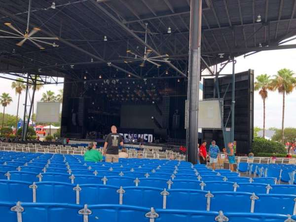 Coral Sky Amphitheatre, section: 5, row: W, seat: 35