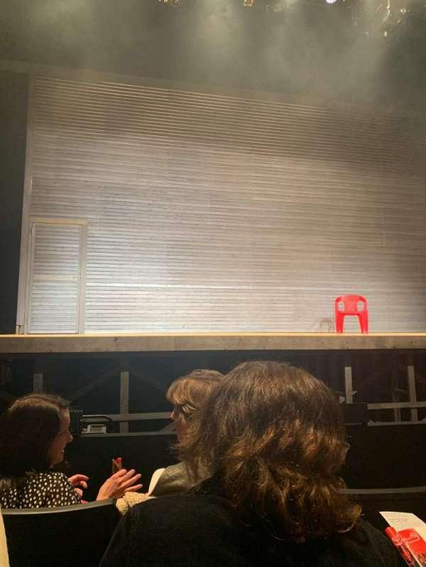 Loeb Drama Center, section: Orchestra C, row: GG, seat: 18