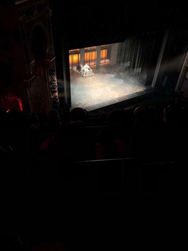 New York City Center, section: Balcony, row: G, seat: 101