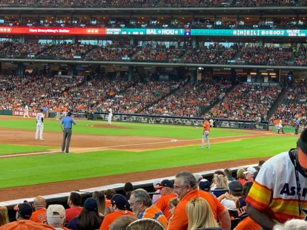Minute Maid Park, section: 107, row: 11, seat: 10