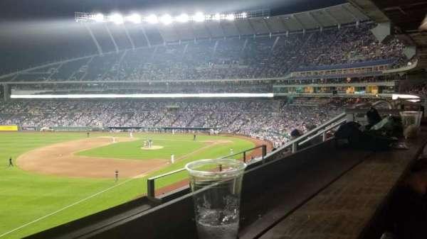 Kauffman Stadium, section: Craft and Draft, row: C, seat: 9