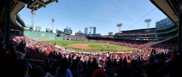 Fenway Park, section: Grandstand 26, row: 2, seat: 13
