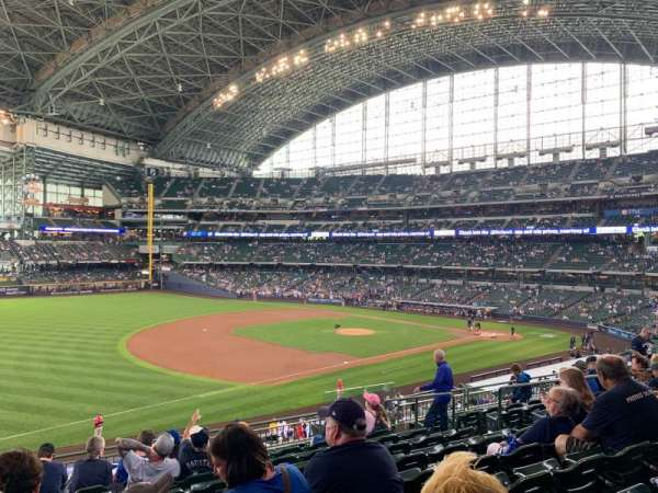 Miller Park, section: 228, row: 10, seat: 10