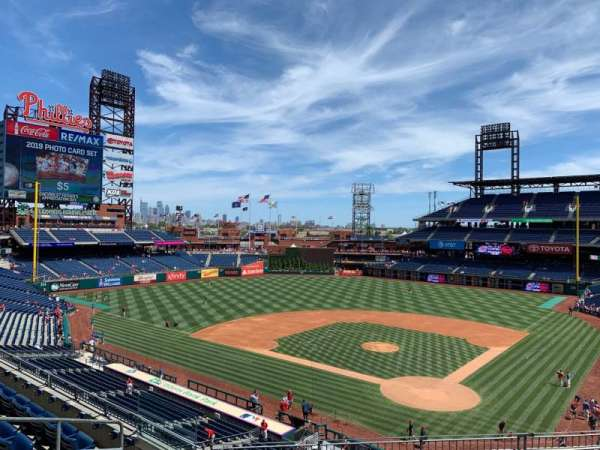 Citizens Bank Park, section: 224, row: 7, seat: 10