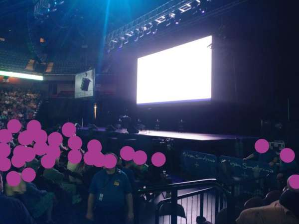 Mohegan Sun Arena, section: 15, row: E, seat: 2