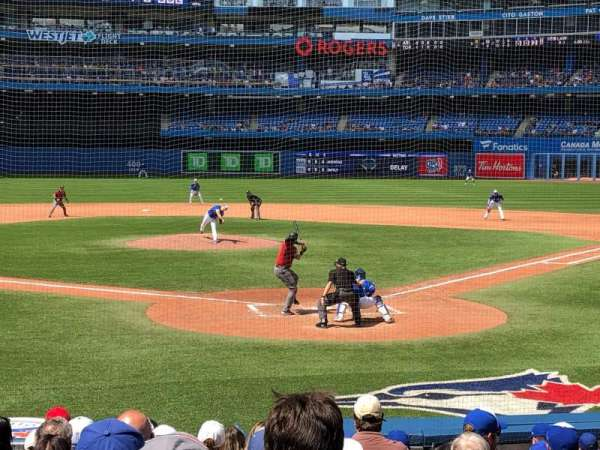 Rogers Centre, section: 123r, row: 15, seat: 10