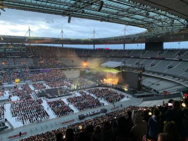 Stade de France, section: D9, row: 73, seat: 22