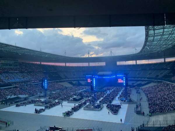 Stade de France, section: A9, row: 56, seat: 07
