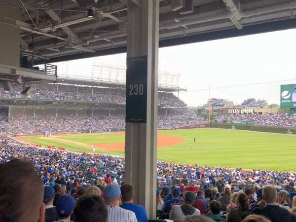 Wrigley Field, section: 230, row: 16, seat: 7