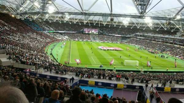 London Stadium, section: 248, row: 52, seat: 70