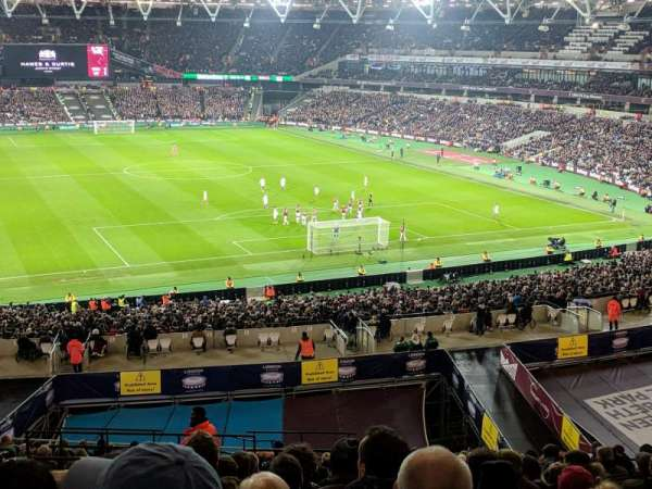 London Stadium, section: 247, row: 53, seat: 79