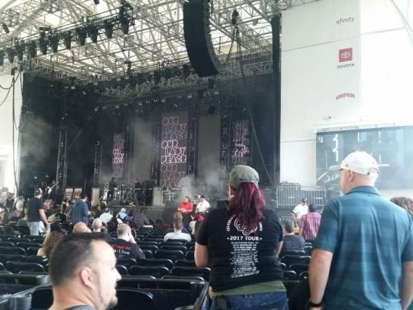 Rockland Trust Bank Pavilion, section: 1, row: z, seat: 10