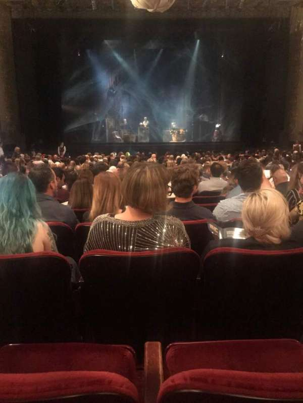 Hollywood Pantages Theatre, section: Orchestra C, row: X, seat: 108