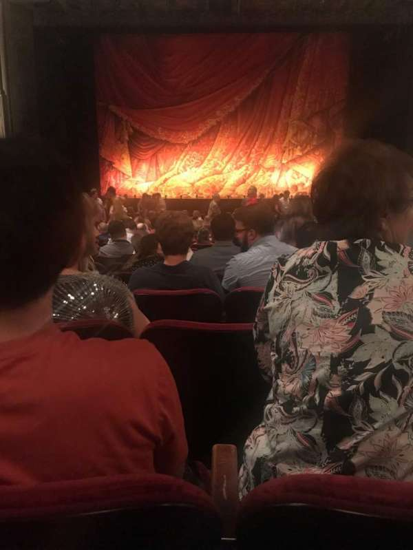 Hollywood Pantages Theatre, section: Orchestra C, row: X, seat: 107