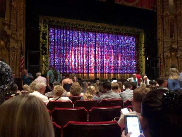 Ohio Theatre (Columbus), section: Orchestra 3, row: L, seat: 123