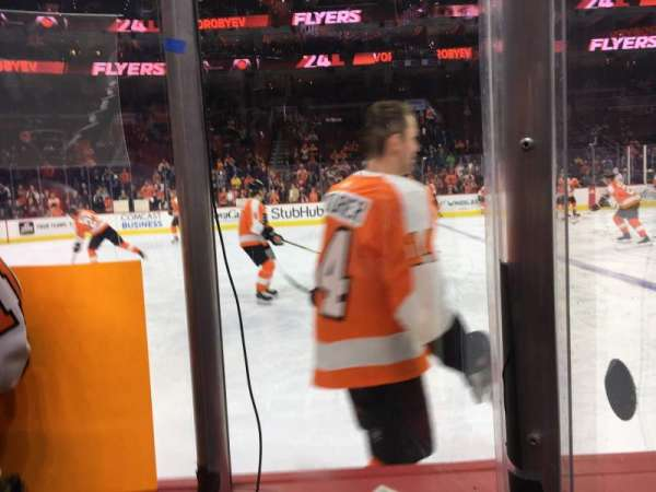 Wells Fargo Center, section: 124, row: 2, seat: 4