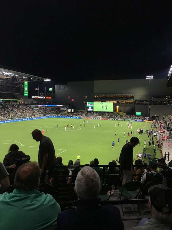 Providence Park, section: 211, row: C, seat: 2