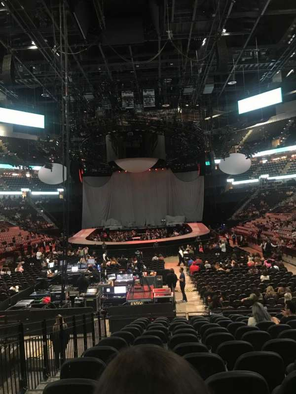 AT&T center, section: 128, row: 18, seat: 13