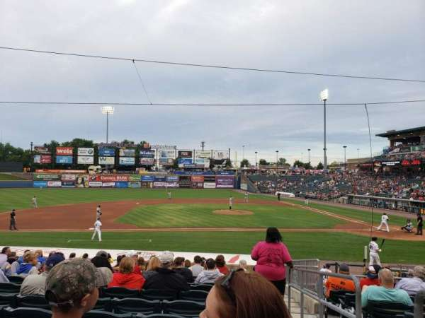 Coca-Cola Park, section: 117, row: U, seat: 1