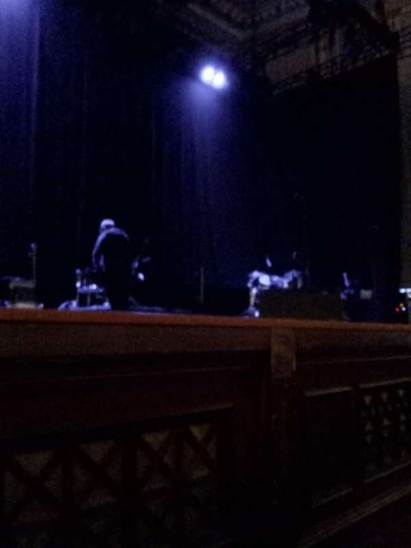 Usher Hall, section: Stalls, row: B, seat: 45