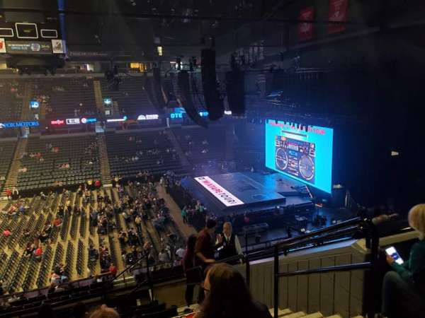 Van Andel Arena, section: 222, row: J, seat: 2