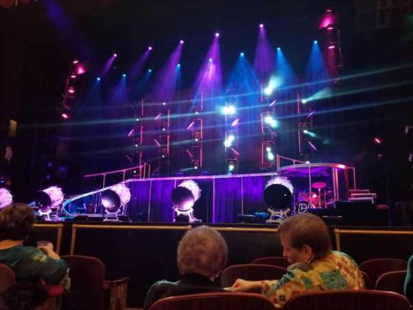 Beacon Theatre, section: Orchestra 2, row: A, seat: 4