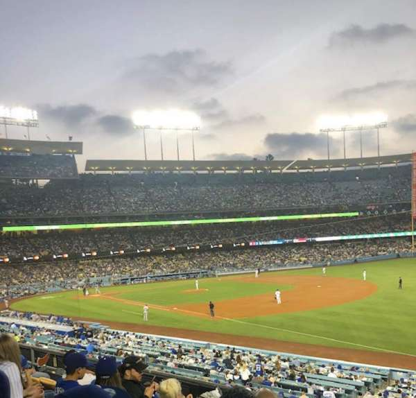 Dodger Stadium, section: 154LG, row: E, seat: 4