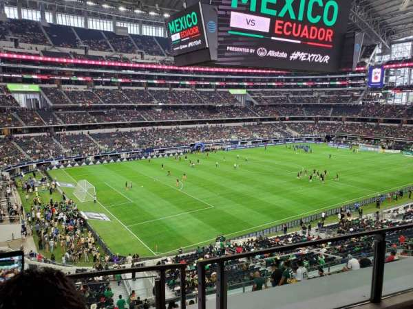 AT&T Stadium, section: 219, row: 2, seat: 6