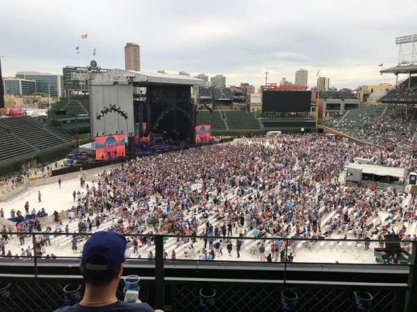 Wrigley Field, section: 304L, row: 3, seat: 15