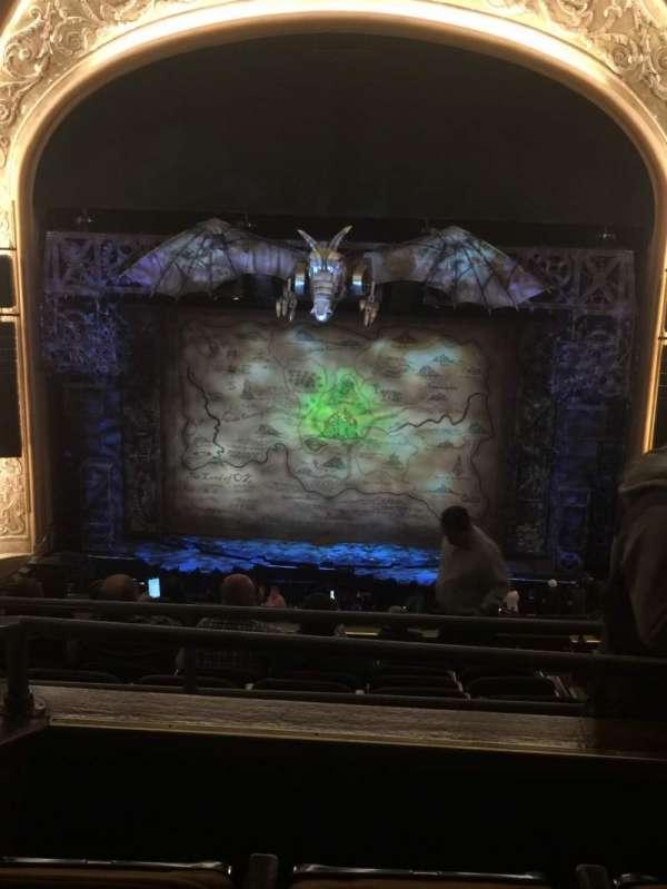 Paramount Theatre (Seattle), section: Mezzanine 23, row: L, seat: 12