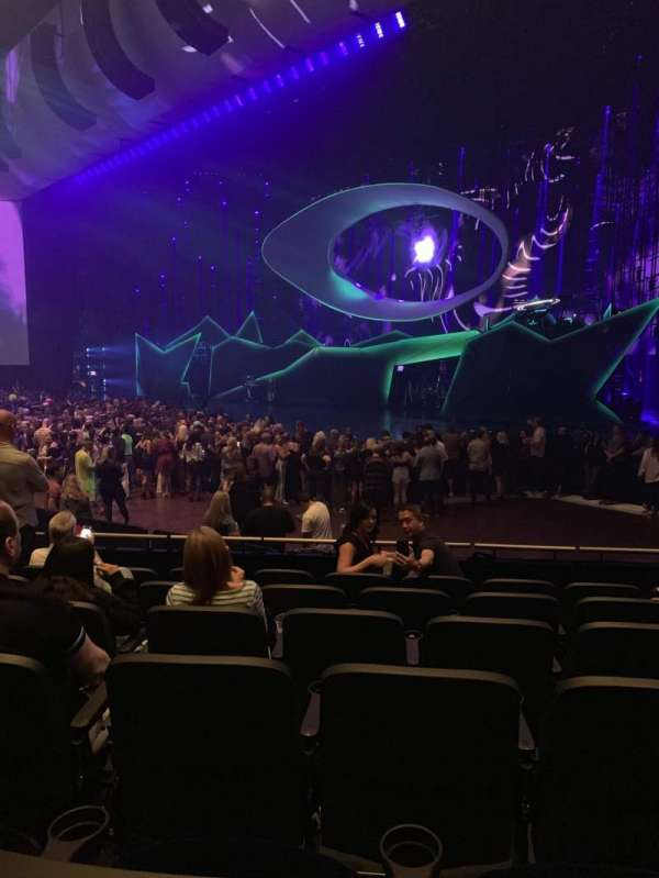 Park Theater at Park MGM, section: 201, row: J, seat: 10