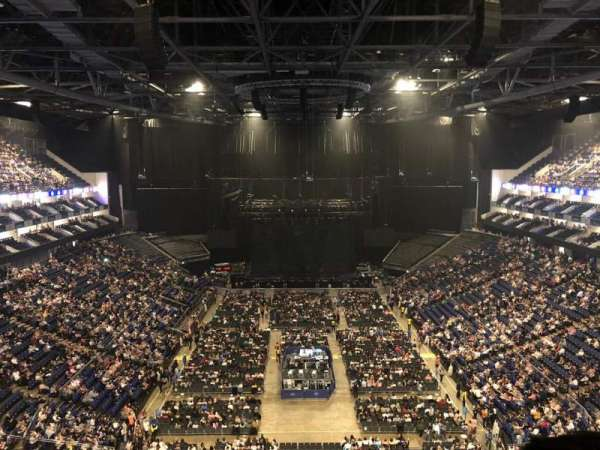 The O2 Arena, section: 411, row: F, seat: 718