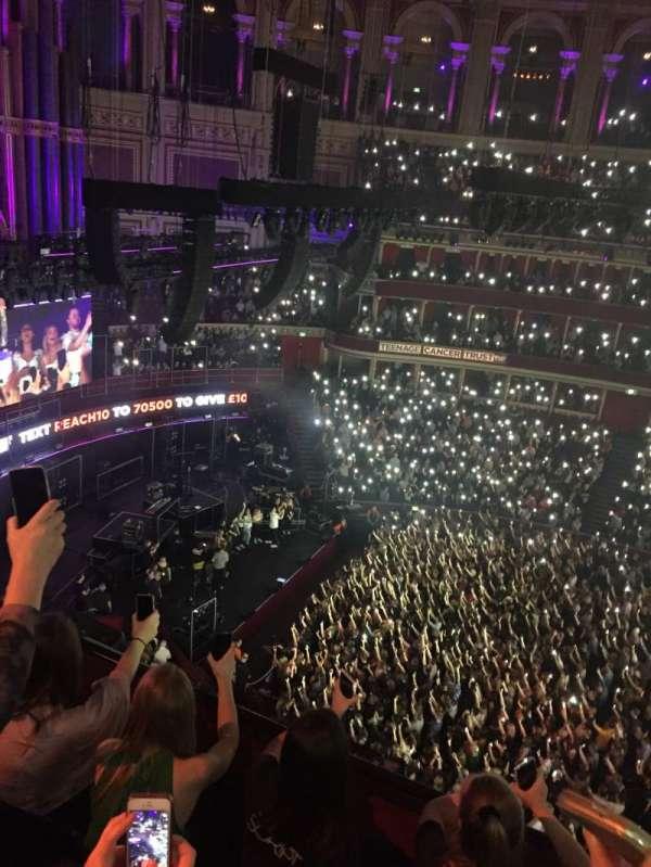 Royal Albert Hall, section: Rausing Circle Q, row: 3, seat: 21
