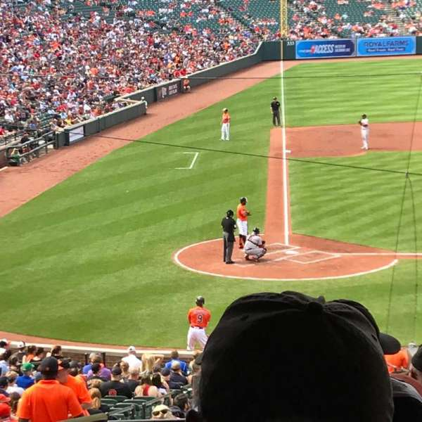 Oriole Park at Camden Yards, section: 29, row: 8, seat: 19