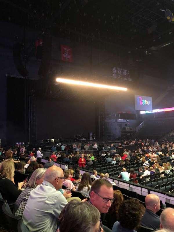 Van Andel Arena, section: 108, row: G, seat: 1