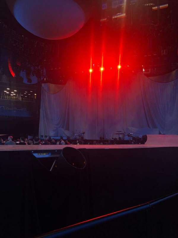 Barclays Center, section: Floor 1, row: 3, seat: 13